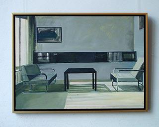 Maria Kiesner : Interior : Tempera on Canvas