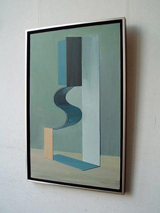 Maria Kiesner : Sculpture : Tempera on Canvas