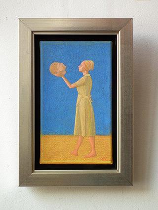Mikołaj Kasprzyk : Monolog : Oil on Canvas
