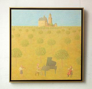 Mikołaj Kasprzyk : Trio von Kronberg : Oil on Canvas