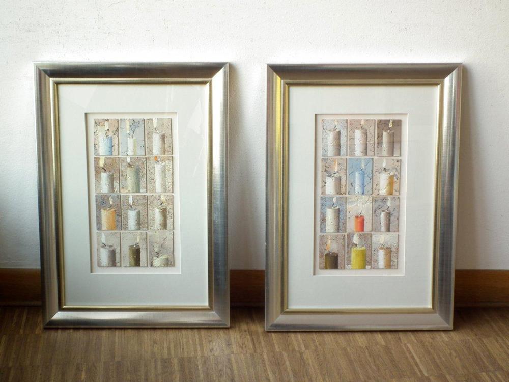 Dariusz Mlącki : Candles Left & Right