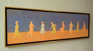 Mikołaj Kasprzyk : Barefoot : Oil on Canvas