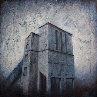 Joanna Pałys : Object 27K : Acrylic on Canvas