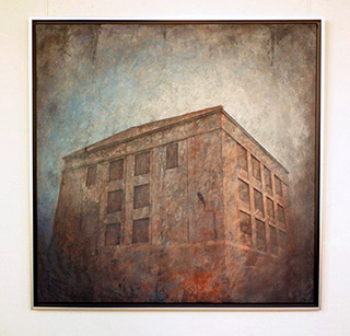 Joanna Pałys : Object A45 : Oil on Canvas