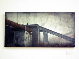 Joanna Pałys : Object J9 : Acrylic on Canvas