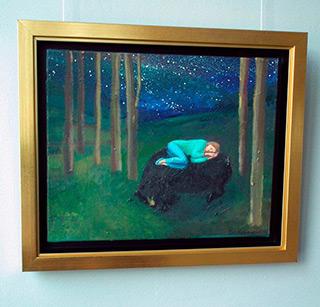 Katarzyna Karpowicz : Winter sleep I : Oil on Canvas