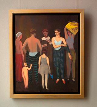 Katarzyna Karpowicz : Arrangements : Oil on Canvas
