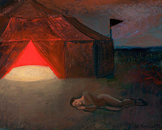 Katarzyna Karpowicz : Circus in sleep : Oil on Canvas