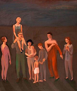 Katarzyna Karpowicz : Family : Oil on Canvas