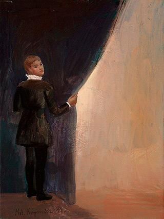 Katarzyna Karpowicz : K : Oil on Canvas