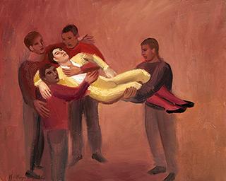 Katarzyna Karpowicz : Matador : Oil on Canvas