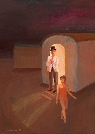 Katarzyna Karpowicz : Night : Oil on Canvas