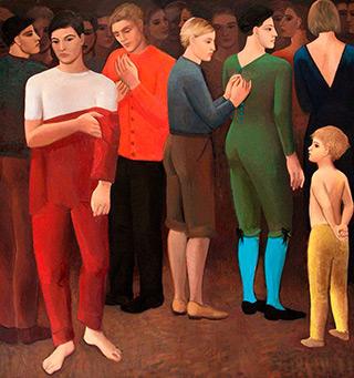 Katarzyna Karpowicz : Preparations : Oil on Canvas