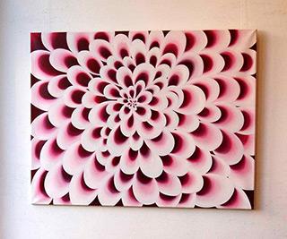 Anna Podlewska : Flower : Oil on Canvas