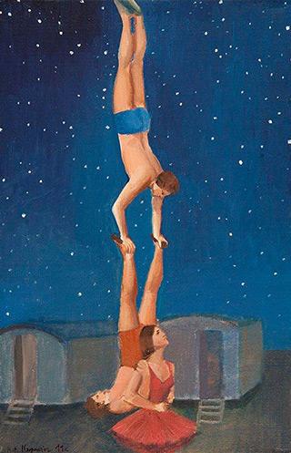 Katarzyna Karpowicz : Siblings : Oil on Canvas