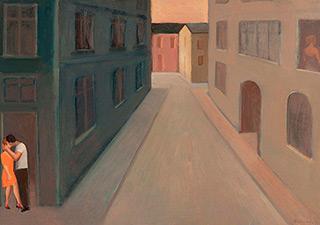 Katarzyna Karpowicz : Street 2 : Oil on Canvas