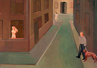 Katarzyna Karpowicz : Street : Oil on Canvas