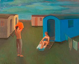 Katarzyna Karpowicz : Summer Morning : Oil on Canvas