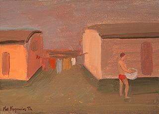 Katarzyna Karpowicz : Washing : Oil on Canvas