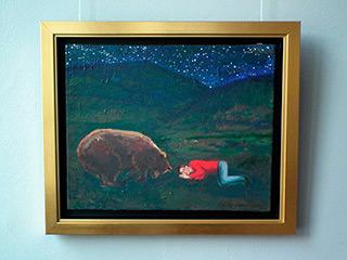 Katarzyna Karpowicz : Winter sleep II : Oil on Canvas