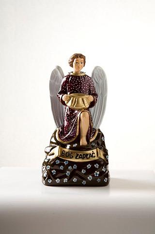Jacek Łydżba : A God-bless-you Angel I : Gypsum, enamel