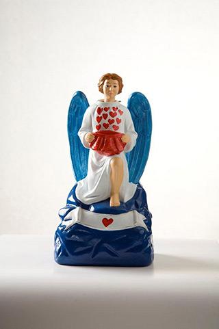 Jacek Łydżba : A God-bless-you Angel III : Gypsum, enamel
