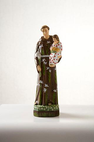 Jacek Łydżba : Saint Anthony I : Gypsum, enamel