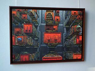 Adam Patrzyk : Arrival : Oil on Canvas