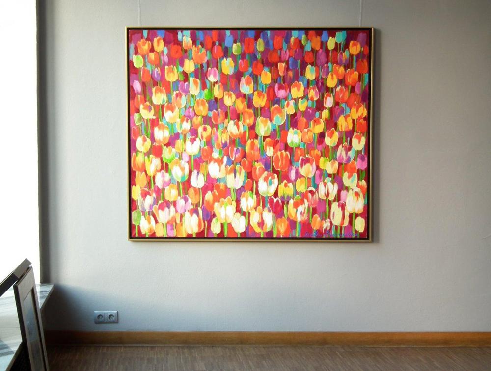 Beata Murawska : August field of tulips