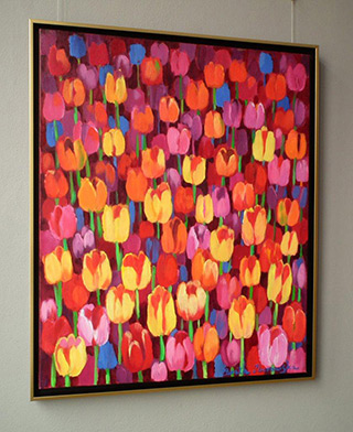 Beata Murawska : Happy day : Oil on Canvas