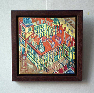 Edward Dwurnik : King's castle : Oil on Canvas