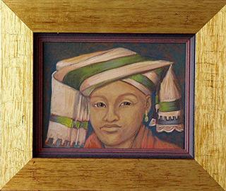 Bogna Gniazdowska : Chinese : Oil on Canvas