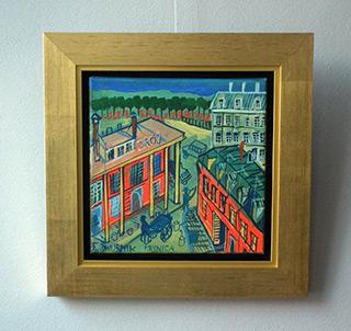 Edward Dwurnik : Krynica : Oil on Canvas