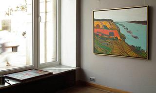 Edward Dwurnik : Mięćmierz : Oil on Canvas