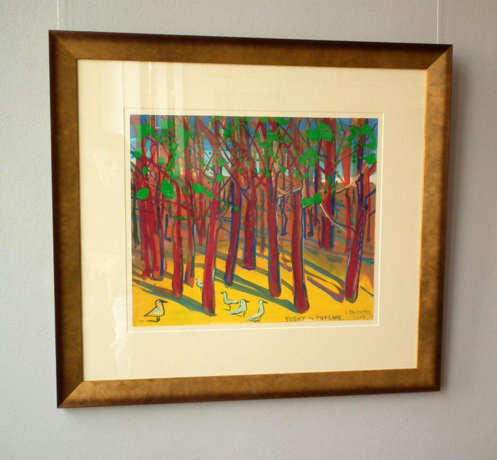Edward Dwurnik : Pine in Mielno