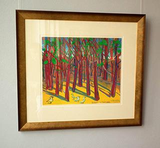 Edward Dwurnik : Pine in Mielno : Tempera on Paper