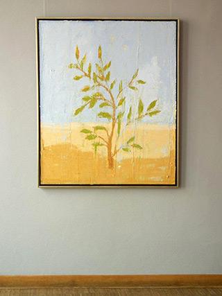 Jacek Łydżba : Little tree : Oil on Canvas