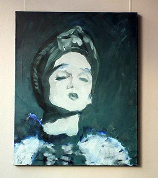 Katarzyna Swinarska : Rare sunshine : Oil on Canvas
