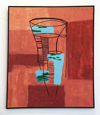 Ciro Beltrán : Mapa mundi : Acrylic on Canvas