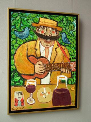 Krzysztof Kokoryn : In the countryside : Oil on Canvas