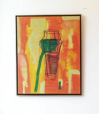 Ciro Beltrán : Aconcagua : Acrylic on Canvas