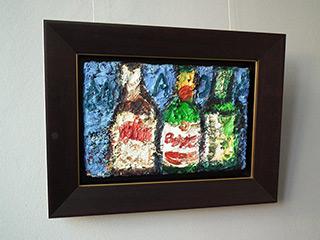 Krzysztof Kokoryn : Three bottles of beer : Oil on Canvas