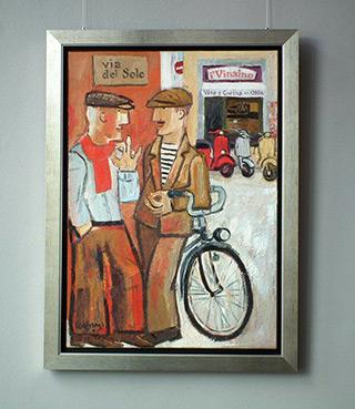 Krzysztof Kokoryn : Via del sole : Oil on Canvas