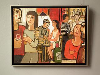 Krzysztof Kokoryn : Will go to him : Oil on Canvas