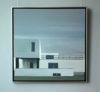 Maria Kiesner : Villa : Oil on Canvas