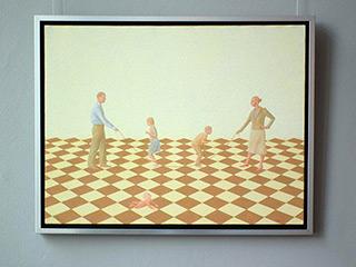 Mikołaj Kasprzyk : Zu Hause : Oil on Canvas