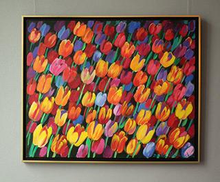 Beata Murawska : Evening breeze : Oil on Canvas
