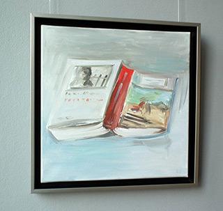 Bogna Gniazdowska : Open book : Oil on Canvas