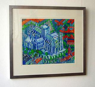 Edward Dwurnik : York : Watercolour on Paper