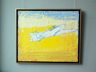 Jacek Łydżba : Plain : Oil on Canvas